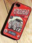 KOOLART PETROLHEAD SPEED SHOP Design For Range Rover Sport HSE Hard Case Cover For iPhone 4 4s